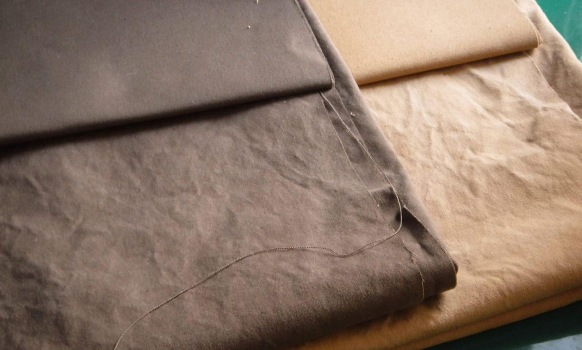 タンニン染め:棉を植えて紡ぐ
